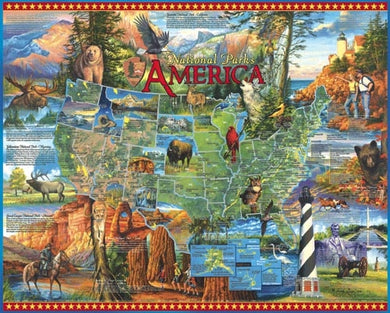 America - National Parks puzzle