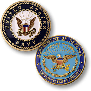 Navy commemorative coin