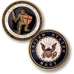 Armor of God - Navy coin