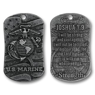Marine Shield of Strength - Joshua