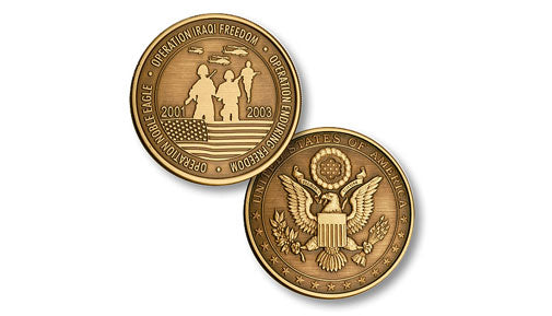 Three Operations - U.S. Seal coin