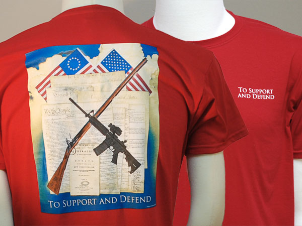 Support and Defend t-shirt - S, M, L, XXL