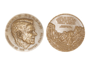 Official Reagan Presidential Medal - Rare