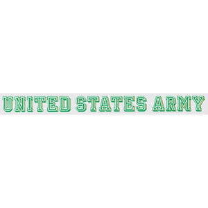 Army window strip decal