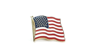 U.S. flag lapel pin (small)