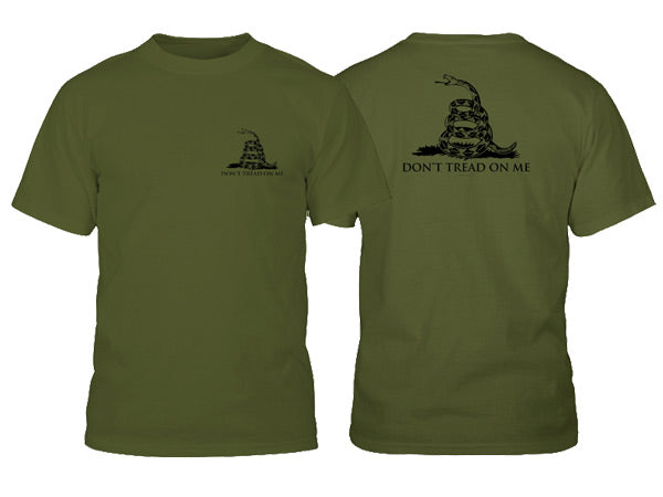 Gadsden shirt - Army Green