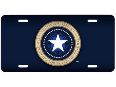 Patriot Seal license plate