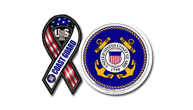 Coast Guard magnet set