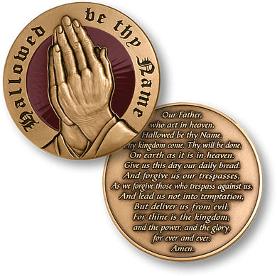 The Lord's Prayer coin