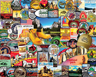 National Park Badges puzzle