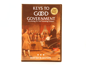 Keys to Good Government--DVD