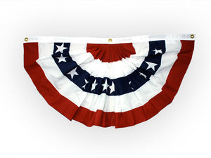 Patriotic Bunting Fan - large