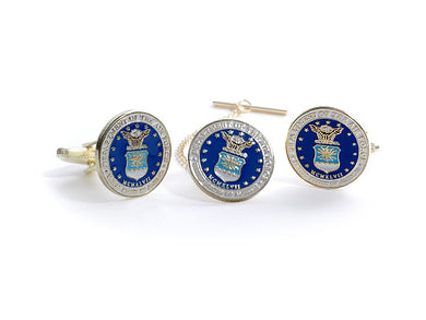 Air Force Tie Tack & Cufflink Set