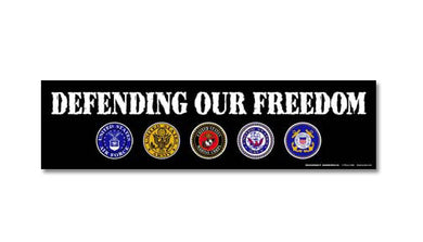 Defending Our Freedom bumper magnet