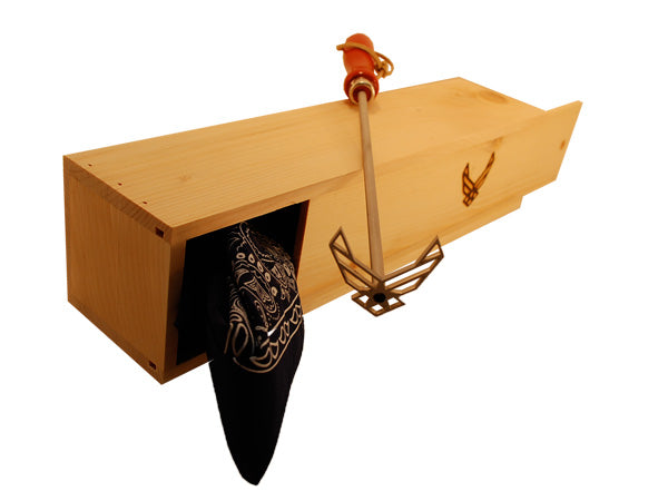 Branding Iron gift box - Air Force Wings