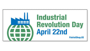 Industrial Revolution Day sticker