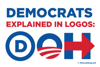 Democrats Explained sticker