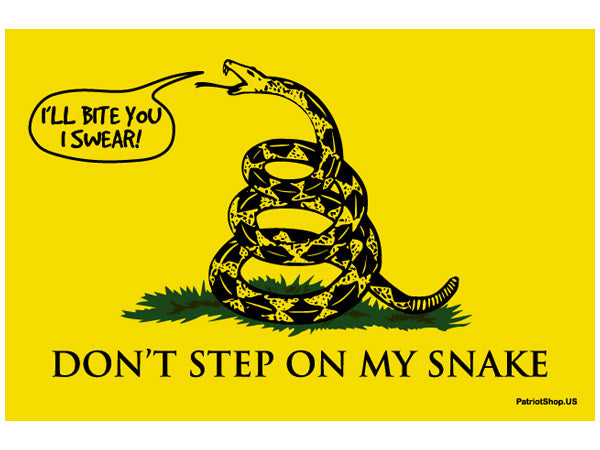 Gadsden sticker - modern language