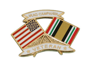 Iraq Campaign Veteran lapel pin