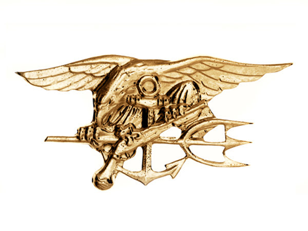 Navy SEAL lapel pin
