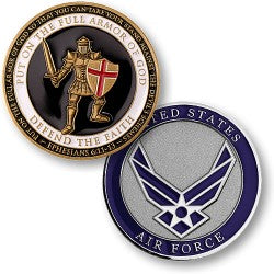 Armor of God - Air Force coin
