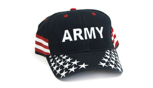Overstock Sale - Army hat - Stars and Stripes
