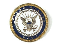 Navy lapel pin