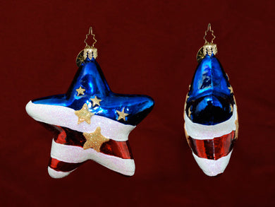 Radko Freedom Star ornament