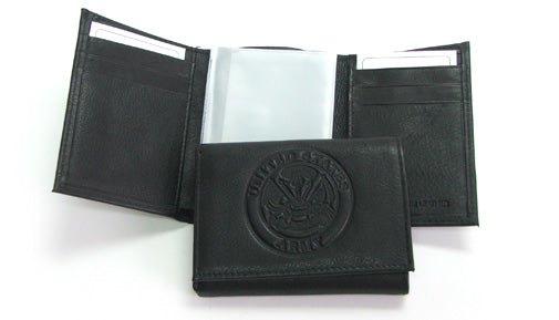 Army leather wallet