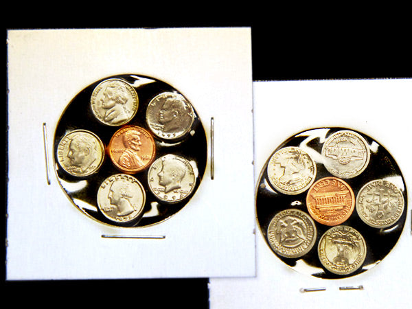 Here's Your Change mini coin set