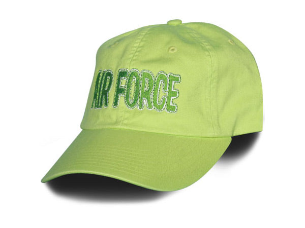 Air Force hat - spring green