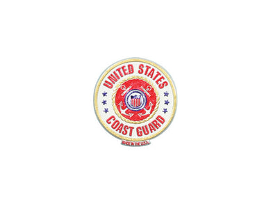 Coast Guard circle magnet