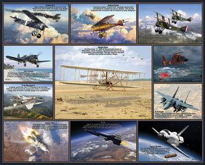 Historic Flights puzzle