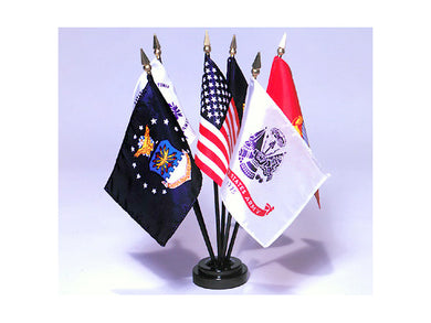 Armed Forces Flags desk set