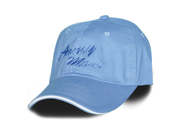 Army Mom hat - baby blue