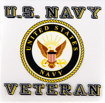 Navy Veteran decal