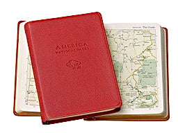 America - National Parks leather atlas