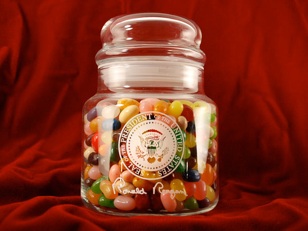 Ronald Reagan Jelly Belly Jar - 49 Flavors or Camo Beans