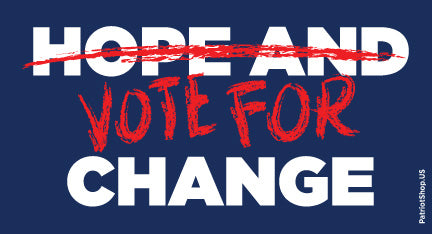 Vote for Change sticker