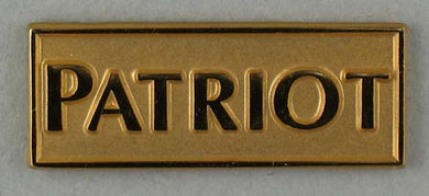 Patriot lapel pin - gold