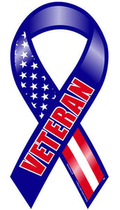 Veteran ribbon magnet