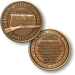 Second Amendment coin