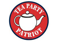 Tea Party Patriot button