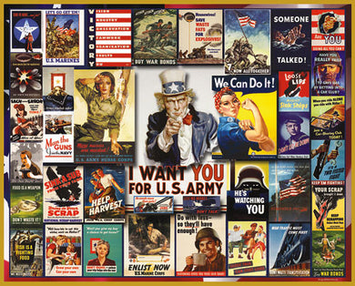WWII Posters puzzle