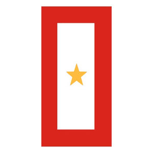Gold Star Service sticker