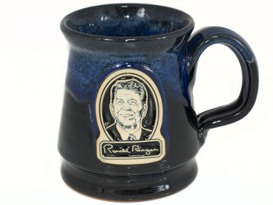 Ronald Reagan pottery mug