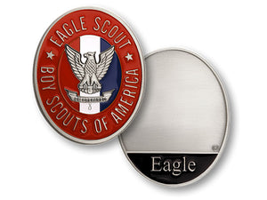 Eagle rank coin-nickel