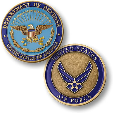 Air Force commemorative coin