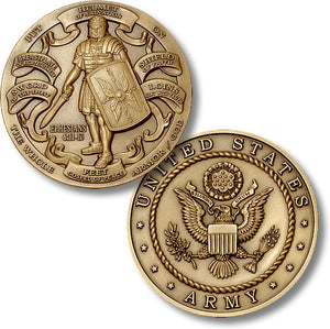 Bronze Armor of God, Army coin