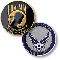 Air Force POW/MIA coin